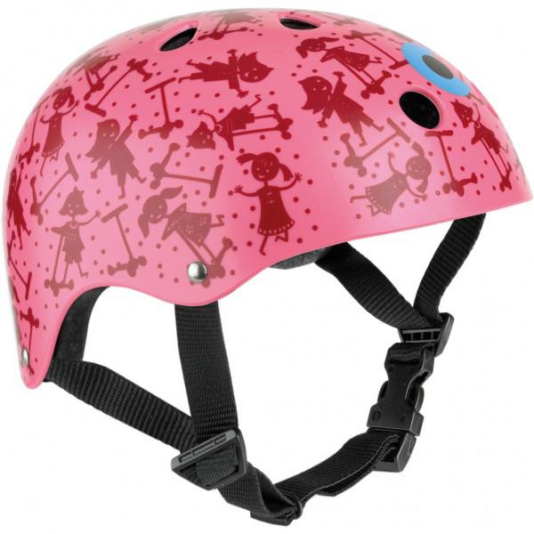 Micro Mini Helm Pink Print S (46-51cm) AC2006
