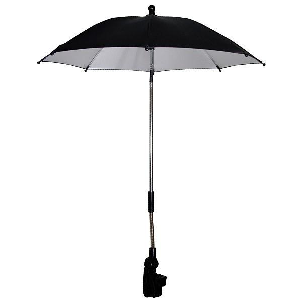 Phil & Teds universele parasol zwart