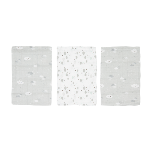 Luma bamboe washandjes 3-pack