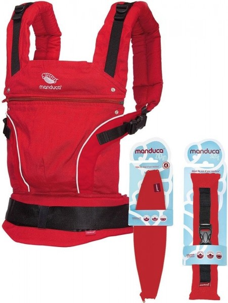 Manduca PureCotton Premium Bundle (+ ZipIn Ellipse + Size-It)