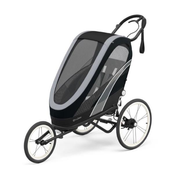 Cybex Zeno baby jogger / fietskar - 2021 All Black (One Box)