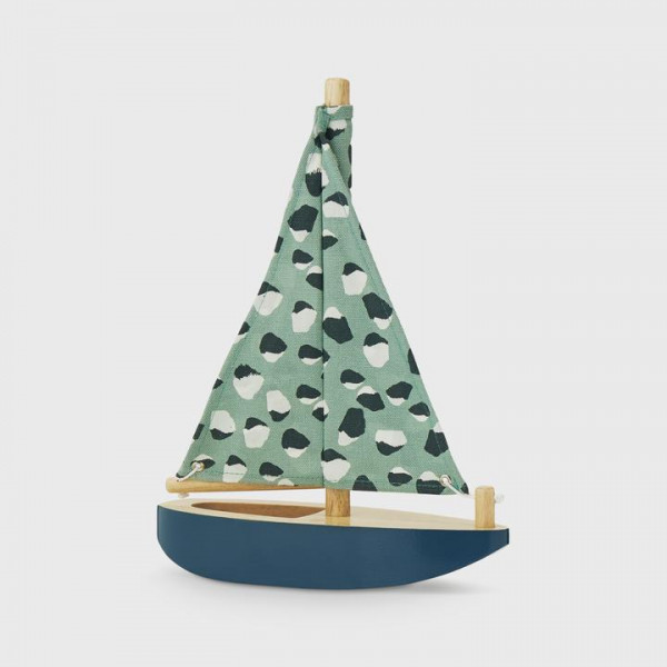 Nofred houten zeilboot