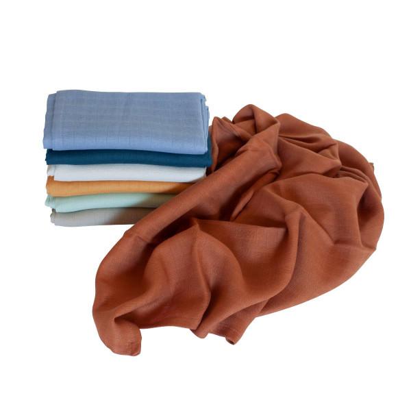 Sebra hydrofiele doeken, 7 stks. Multi