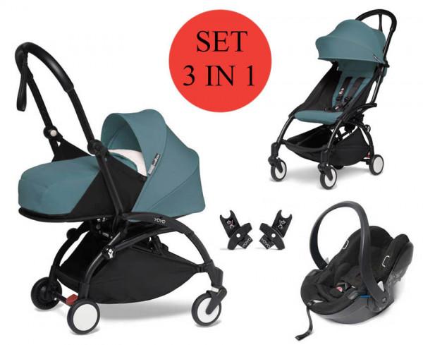 BABYZEN YOYO 2 kinderwagenset 3 in 1 met newborn set