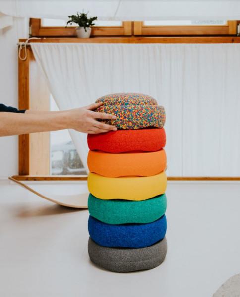 Stapelstein Rainbow Basic Set 6 stuks