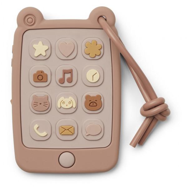 Liewood speeltelefoon (speelgoedtelefoon & bijtring)