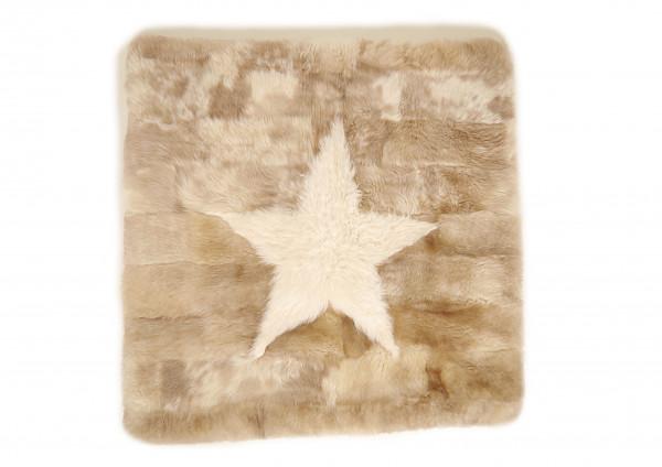 Kaiser lamsvel tapijt 100x100 cm