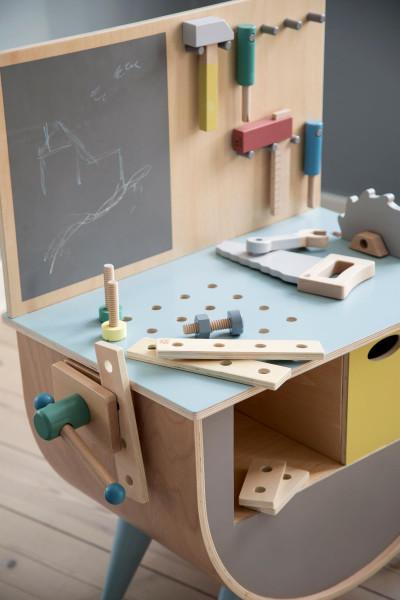 Sebra houten bouw speelgoed
