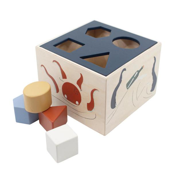 Sebra houten blokkendoos