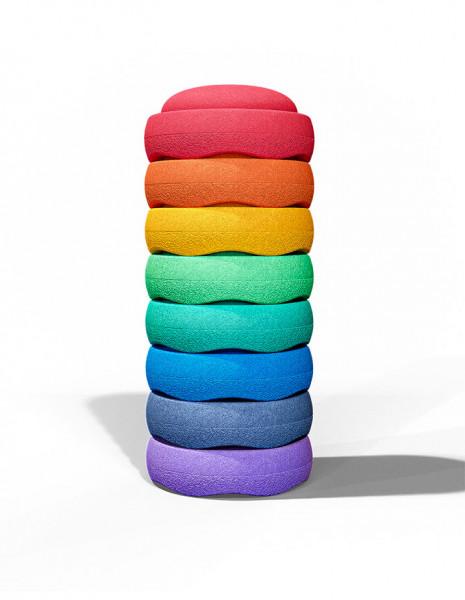 Stapelstein Rainbow Great Set 8 stuks