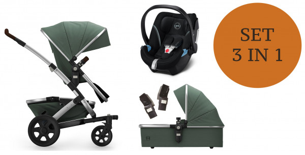 Joolz Geo 2 Kinderwagen Set 3 in 1 incl. Cybex Aton 5 autostoeltje