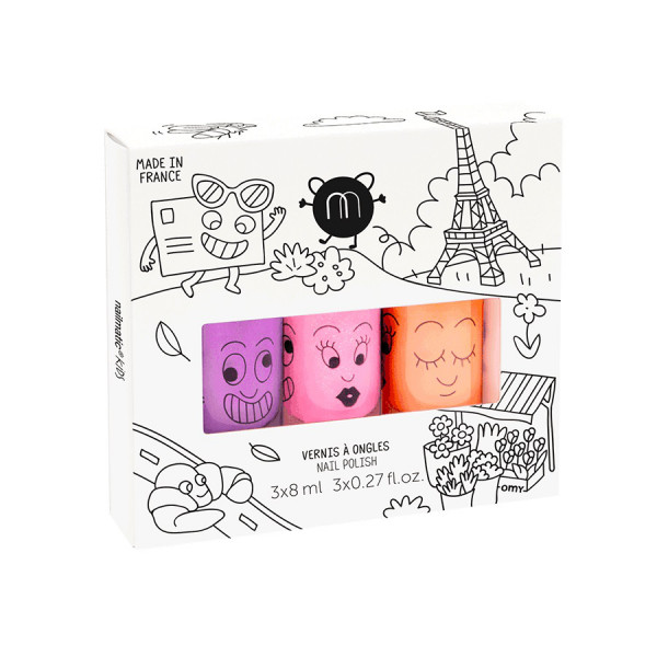 Nailmatic nagellak set, 3-pack