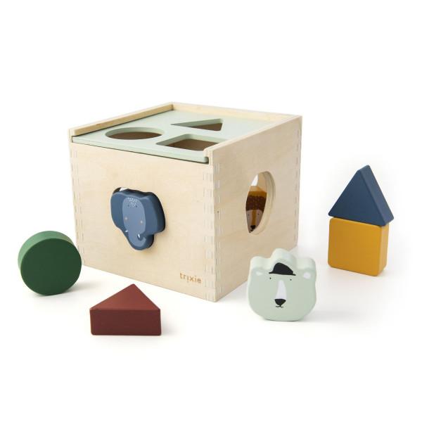 Trixie houten vormenspel