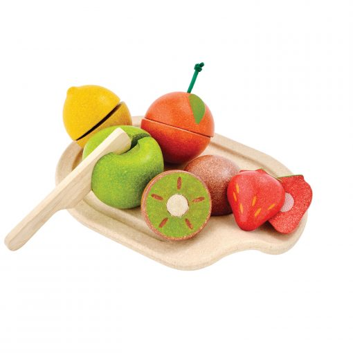 PlanToys houten speelgoedvoedselsets