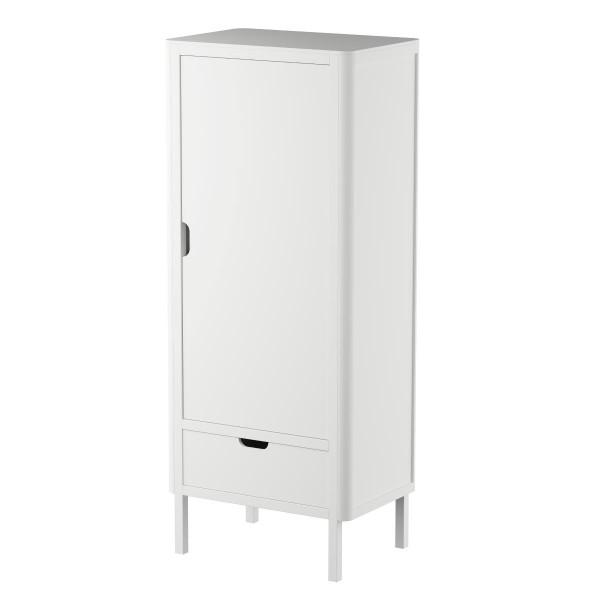 Sebra kledingkast Classic White, 1 deur