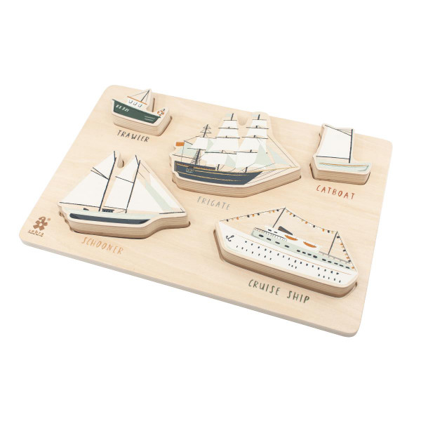 Sebra houten puzzel