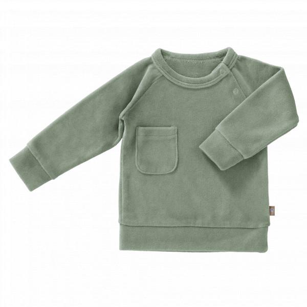 Fresk baby sweater velours
