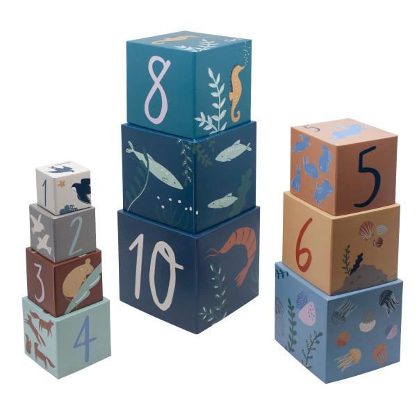 Sebra blokkenspel nummers
