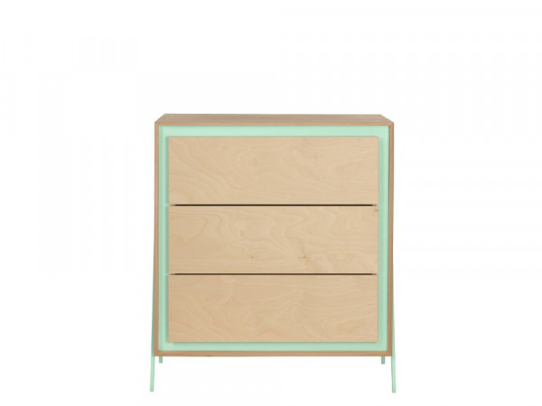 In2wood commode met 3 lades Square