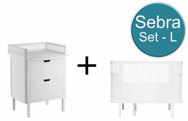 Sebra Babykamer L-Set