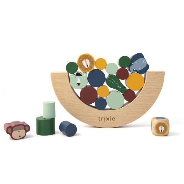 Trixie houten evenwichtsspel gemaakt