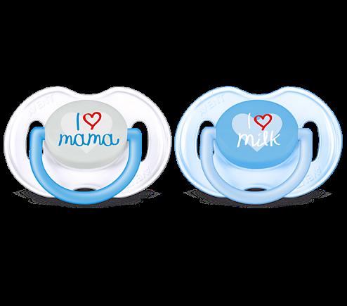 Philips AVENT Classic Beruhigungssauger I love mama/ papa/ milk/ kiss me