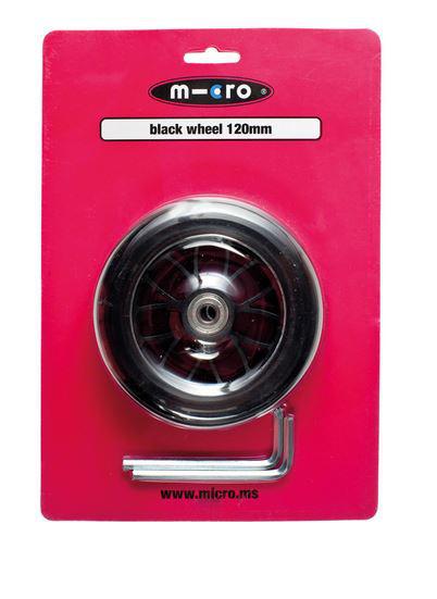 Micro Ersatzrollen, black 120 mm