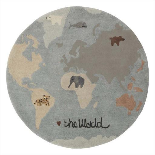 OYOY kindertapijt Wereld, 120 cm