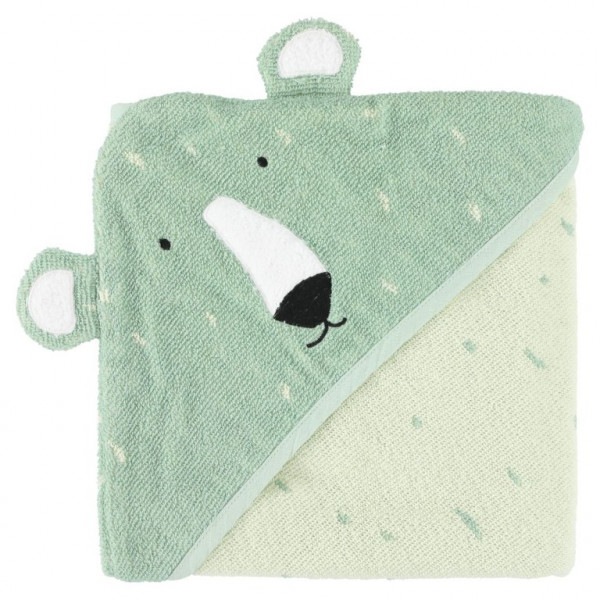 Trixie handdoek met capuchon 75x75 cm