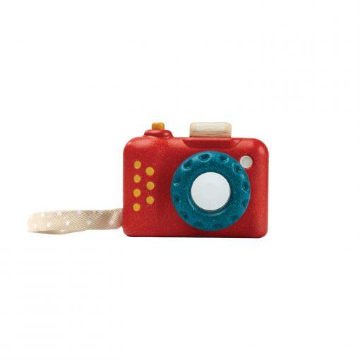 PlanToys houten speelgoed camera