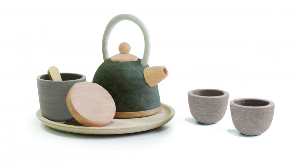 PlanToys houten theeset