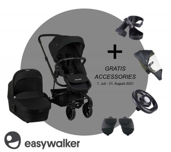Easywalker Harvey3 combikinderwagen 2021 + Gratis Accessoires