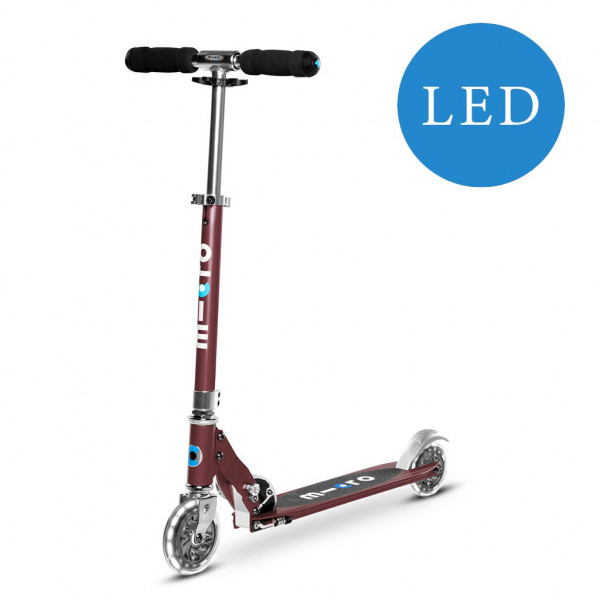 Micro Sprite Step met LED wielen