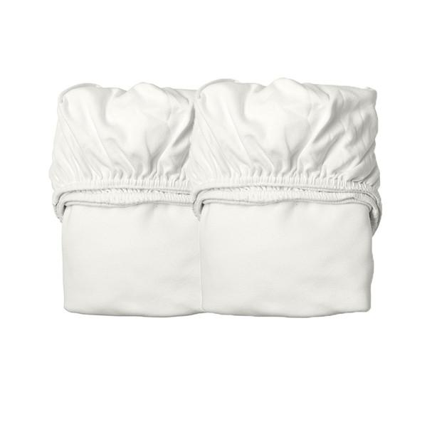 Leander hoeslaken voor babybed, 2 stk.