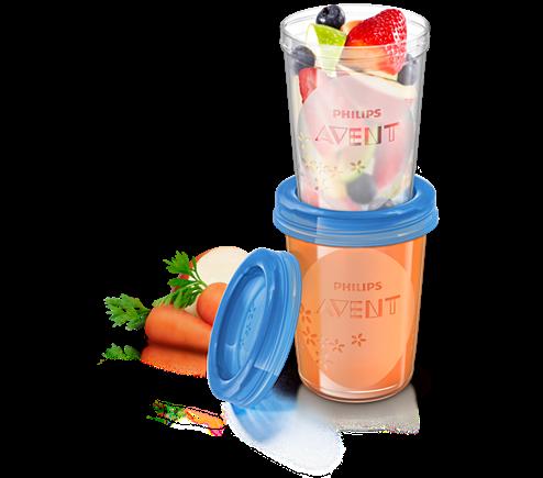 Philips AVENT Nahrungs-Mehrwegbecher