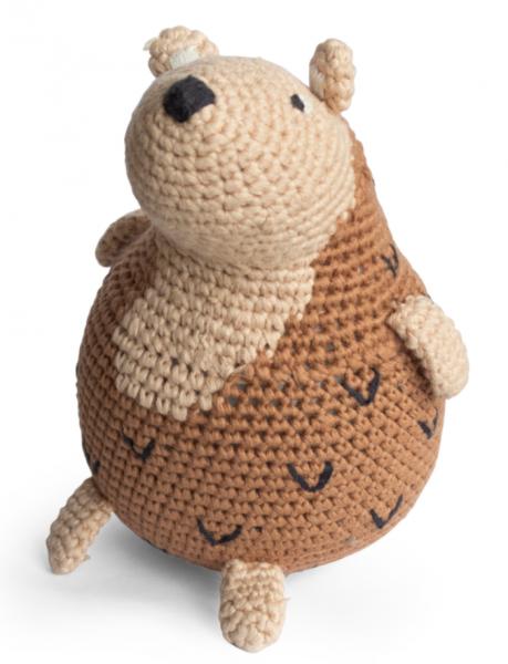 Sebra hand gehaakt poppetje Twinkle the Hedgehog
