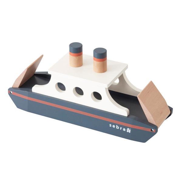 Sebra houten speelgoedboot
