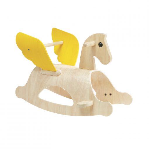 PlanToys houten schommelpaard