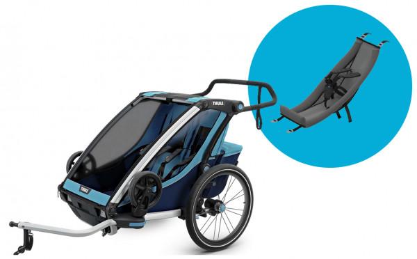 Thule Chariot Fahrradanhänger Set + Babysitz